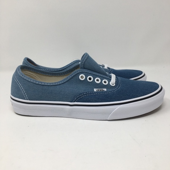 vans authentic denim